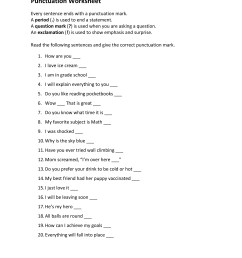 6 Best Images of Printable Punctuation Rules Worksheet - Printable  Punctuation Rules [ 3300 x 2550 Pixel ]