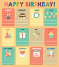7 Best Images of Printable For Classroom Birthday Charts ...