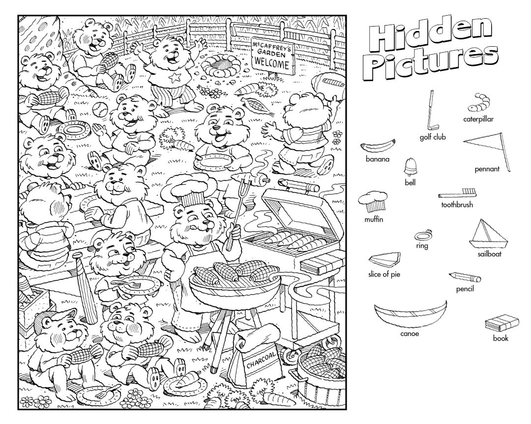 4 Best Images Of Printable Thanksgiving Hidden Object