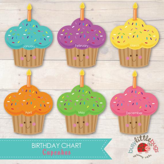 6 Best Images of Preschool Birthday Chart Printable