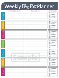 8 Best Images of Weekly Budget Worksheet Free Printable