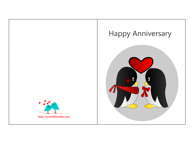 Free Printable Cards Wedding Anniversary – Anniversary Printable Cards