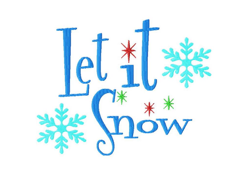 6 Best Images Of Let It Snow Clip Art Printable Let It