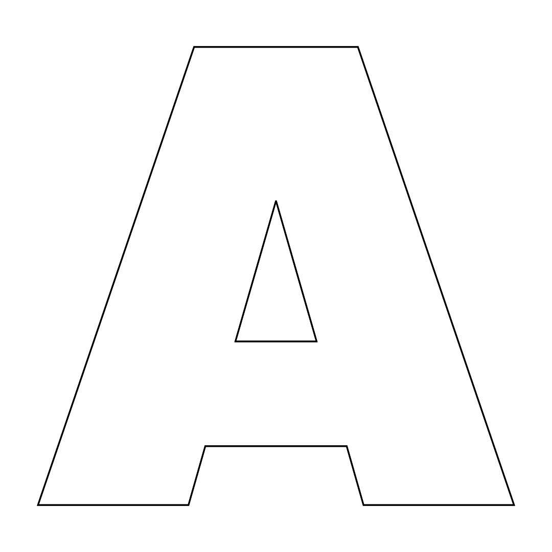 New Alphabet Examples