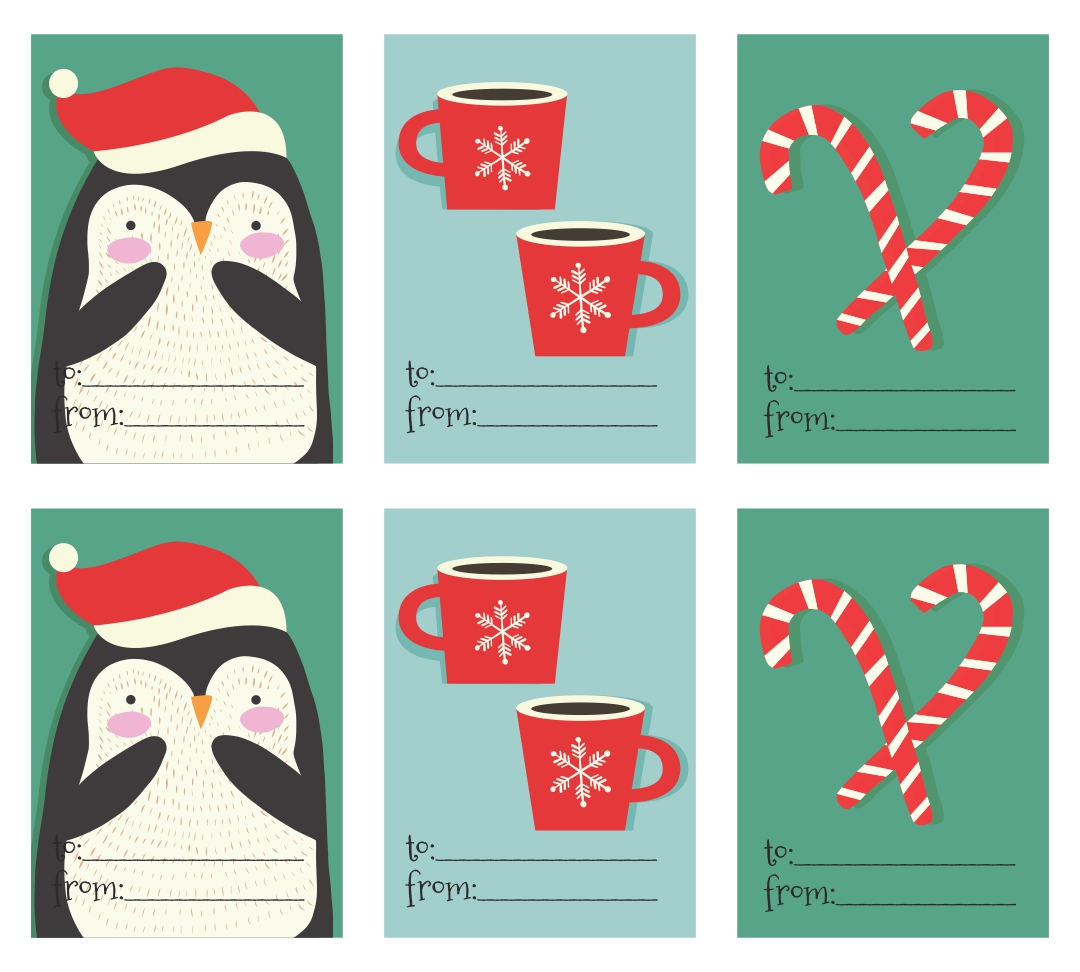 5 Best Images Of Beautiful Printable Christmas Gift Tags