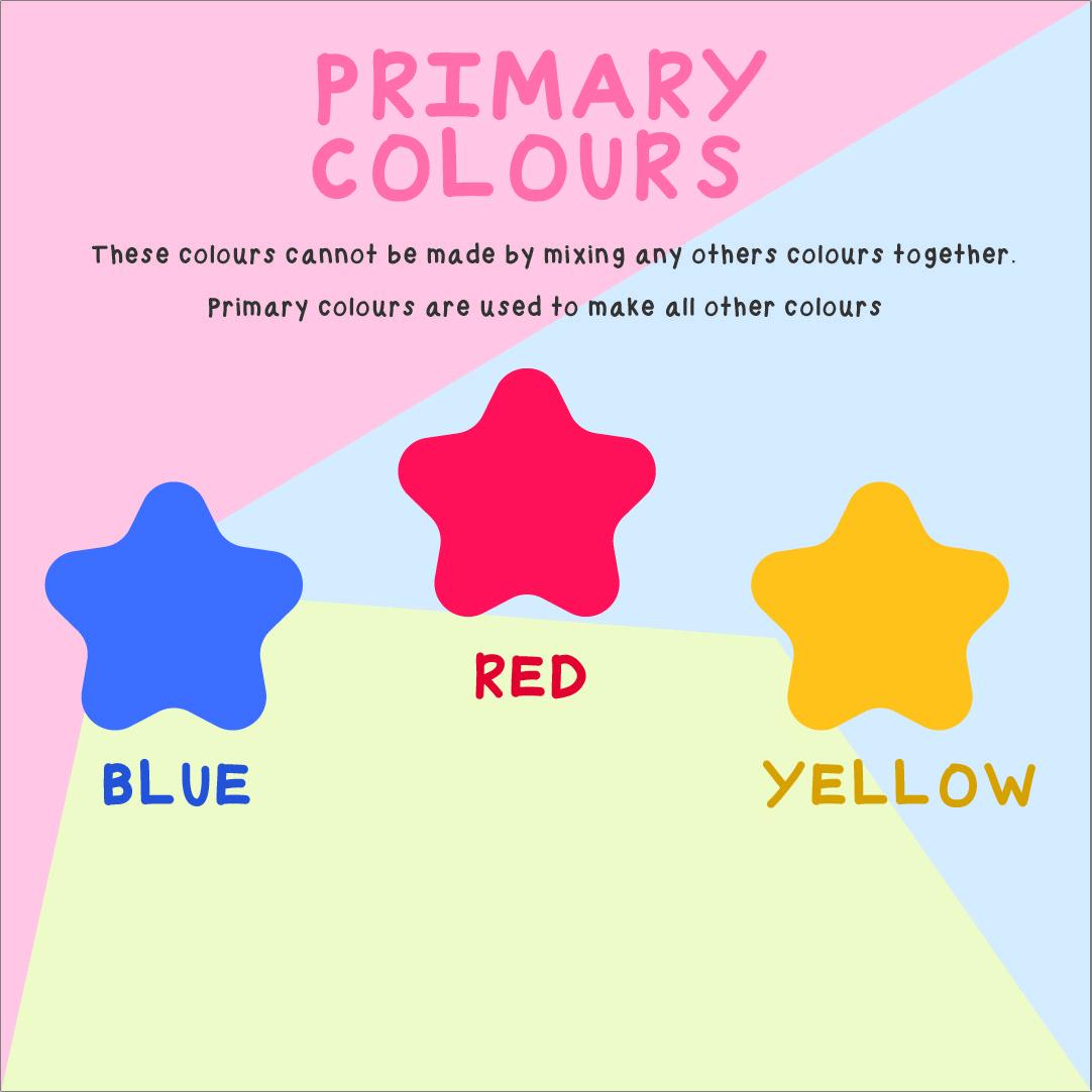 7 Best Images Of Printable Primary Colors Preschool