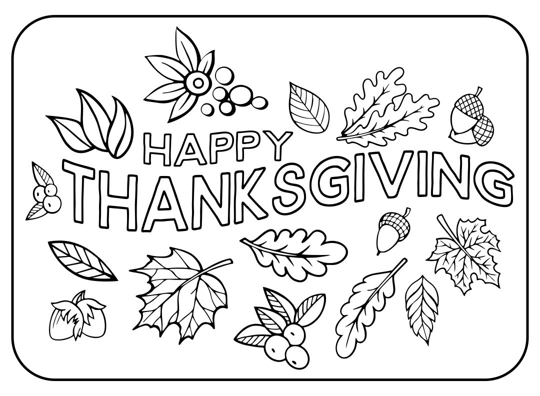 Thanksgiving Printable Images Gallery Category Page 6