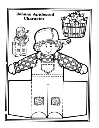 6 Best Images of Print Johnny Appleseed Printables