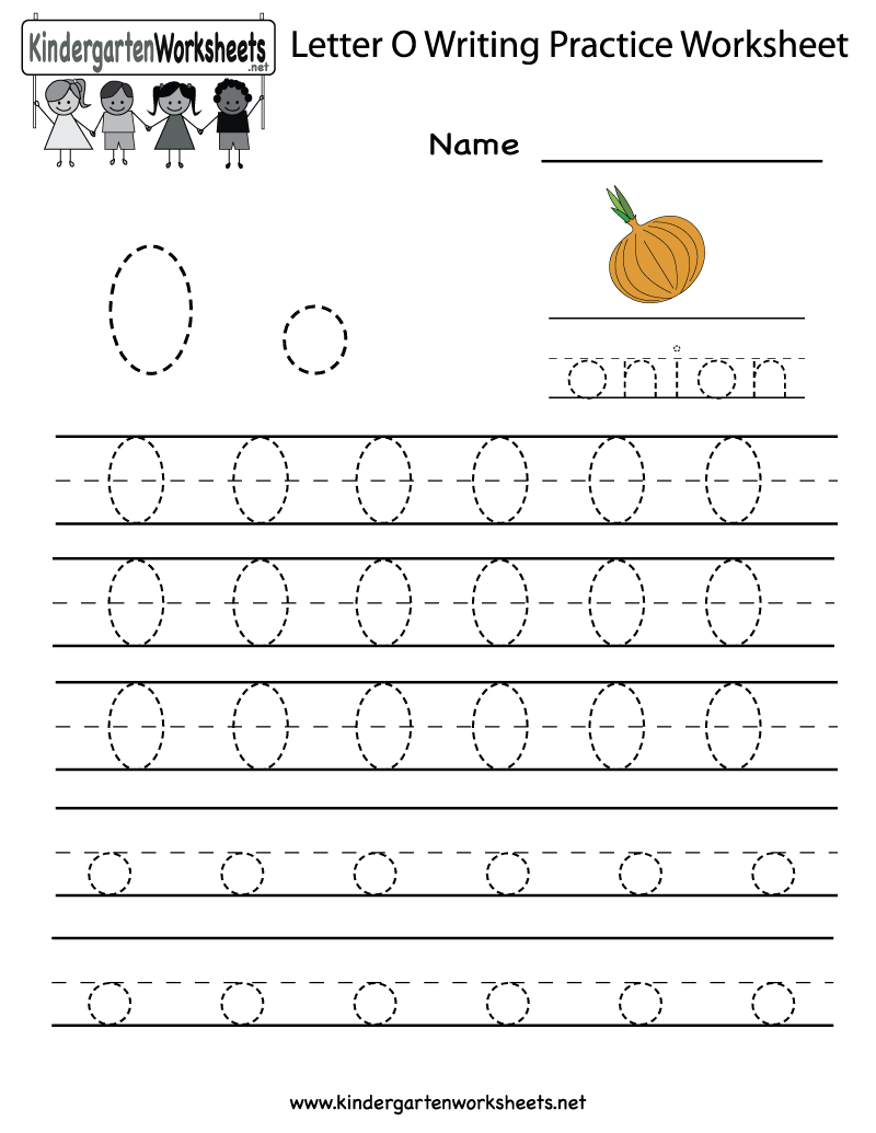 7 Best Images of Letter O Worksheet Preschool Printable