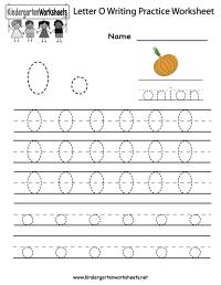 7 Best Images of Letter O Worksheet Preschool Printable