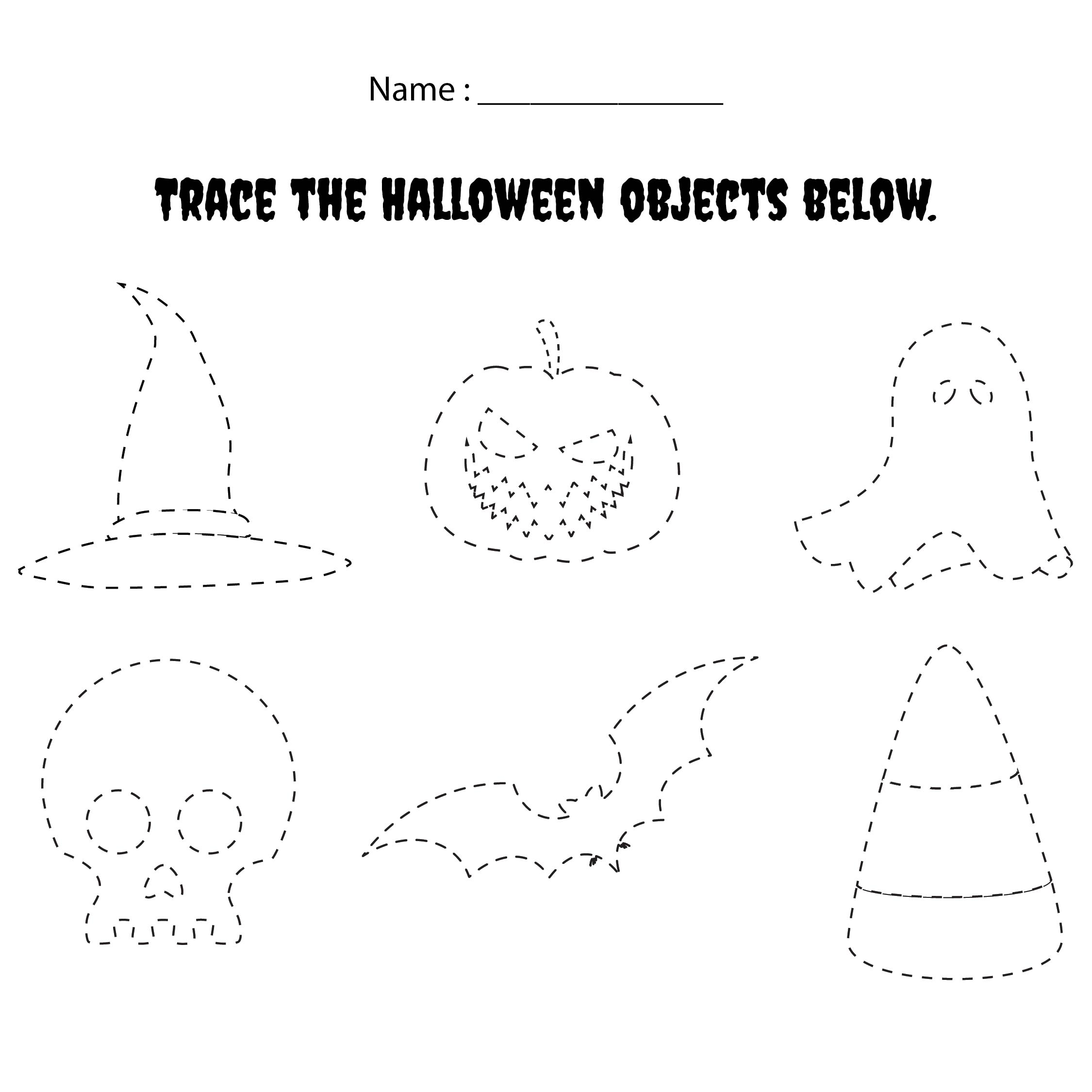 7 Best Halloween Do A Dot Printables