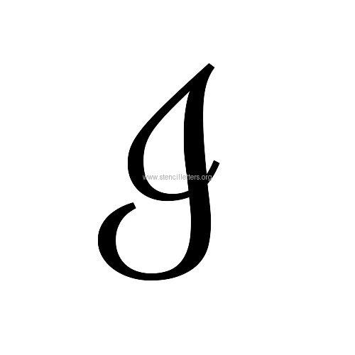 letter stencils printable