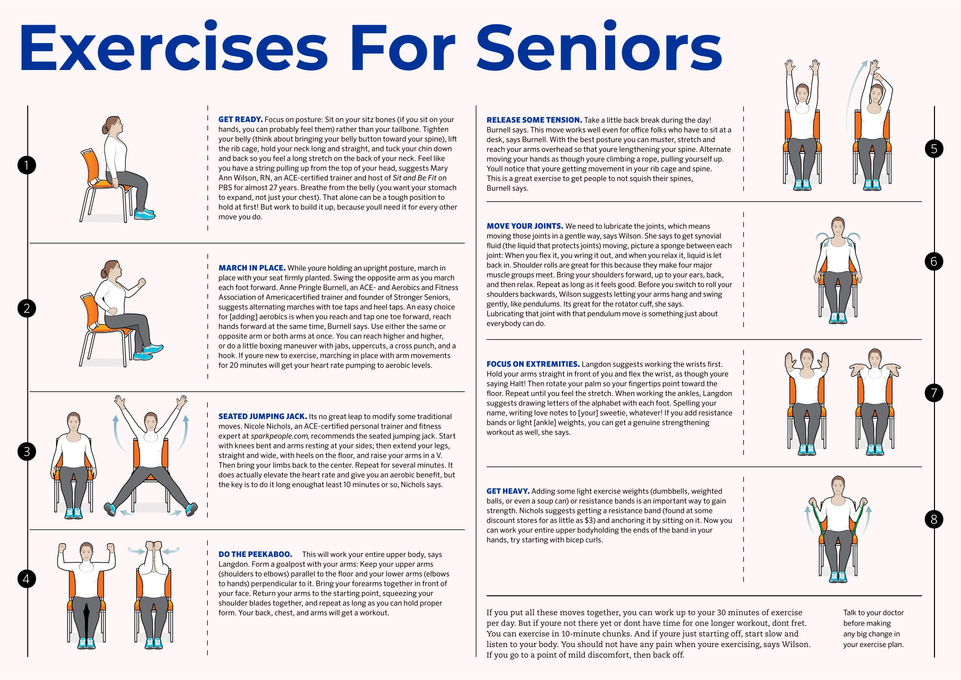seated chair yoga poses for seniors rocking ottoman covers 9 best images of printable exercises - senior exercises, ...