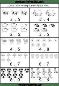 6 Best Images of Kindergarten Printable Counting 1 10 ...