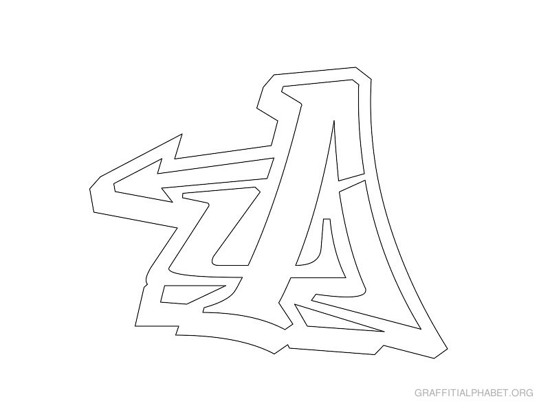 5 Best Images of 3D Alphabet Letters Templates Printable