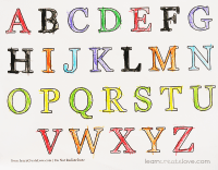 6 Best Images of Alphabet Letters And Numbers Printables ...