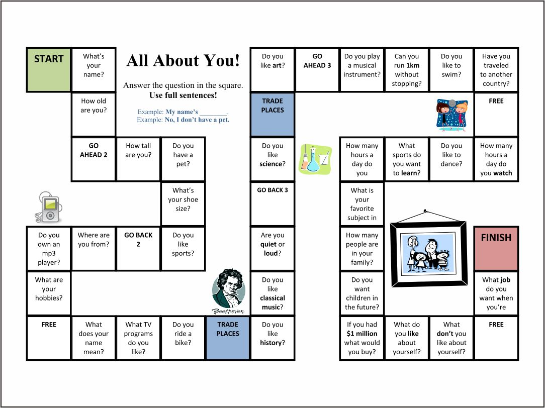 6 Best Images Of Family Board Games Printables