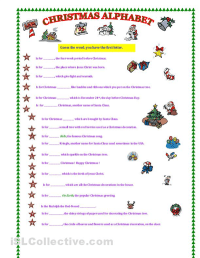 7 Best Images of Free Christmas Alphabet Games Printables