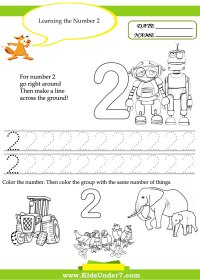 6 Best Images of Printable Number 2 Worksheets - Free ...