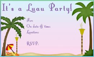 Most Por Tags For This Image Include Luau Party Invitations