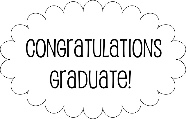 5 Best Images of Graduation Congratulations Templates