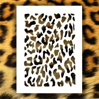 7 Best Images of Cheetah Print Stencil Printable - Leopard ...