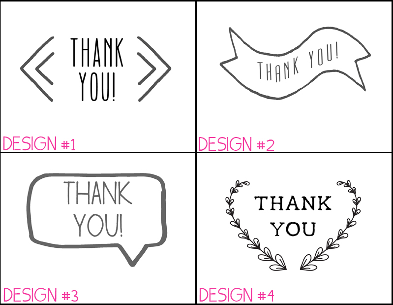 Coloring Thank You Note Printable Template Coloring Pages