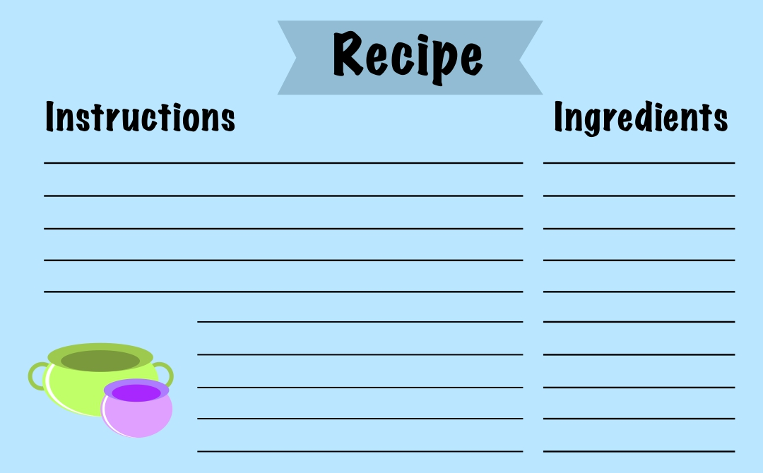 8 Best Images Of Free Editable Printable Recipe Cards