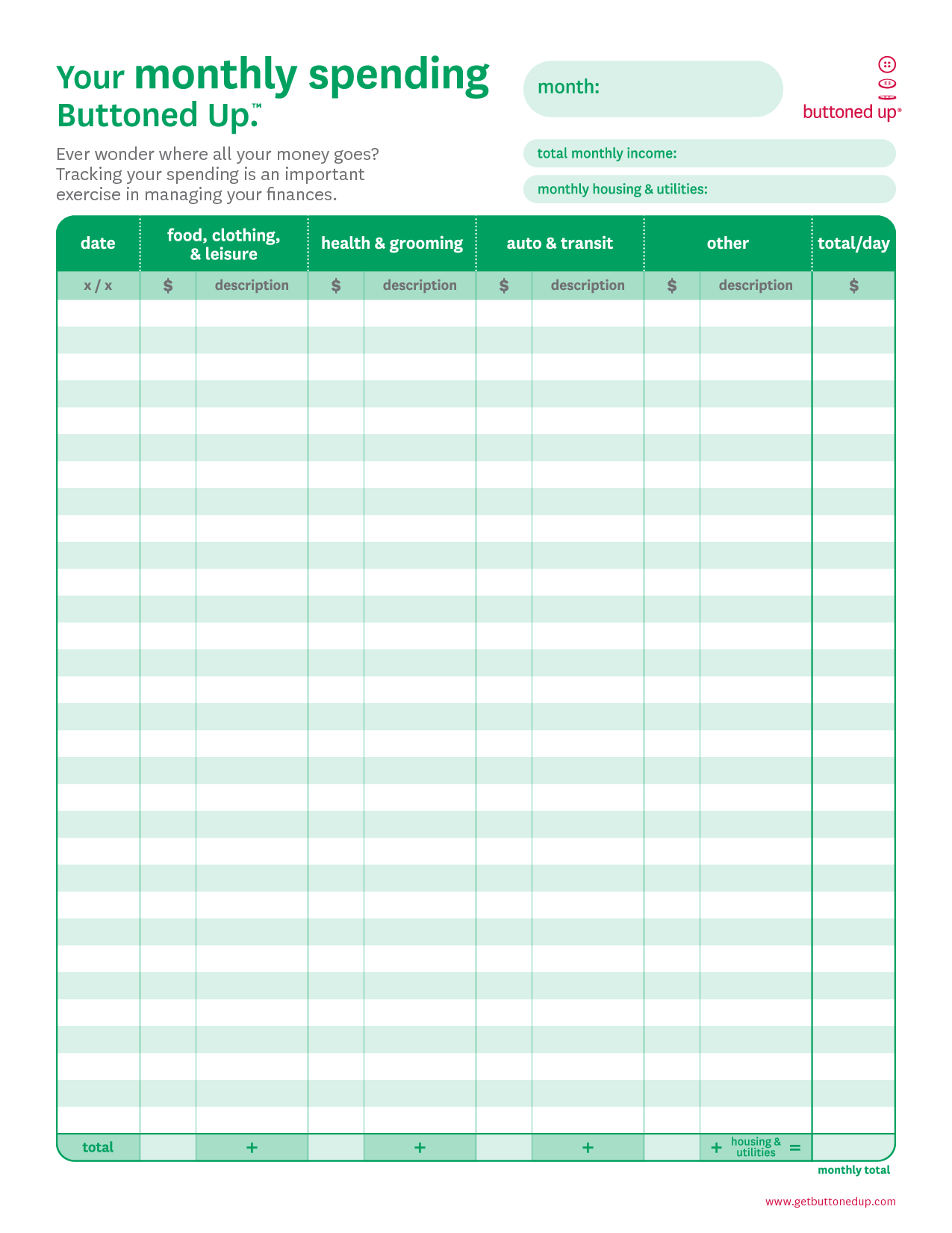 8 Best Images Of Free Printable Business Budget Worksheets