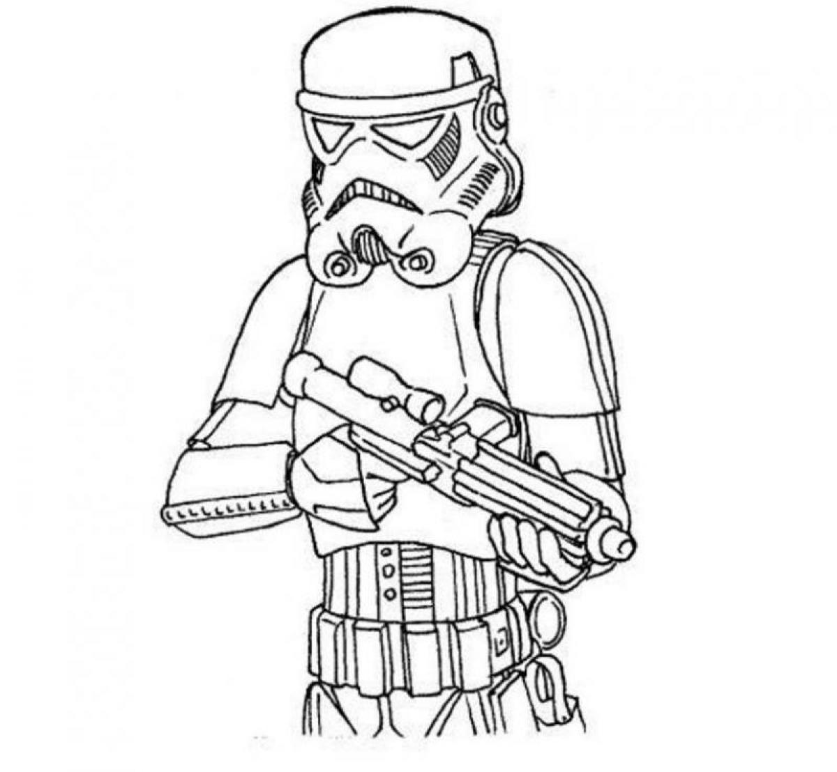 9 Best Images of Baby Stormtrooper Star Wars Printables