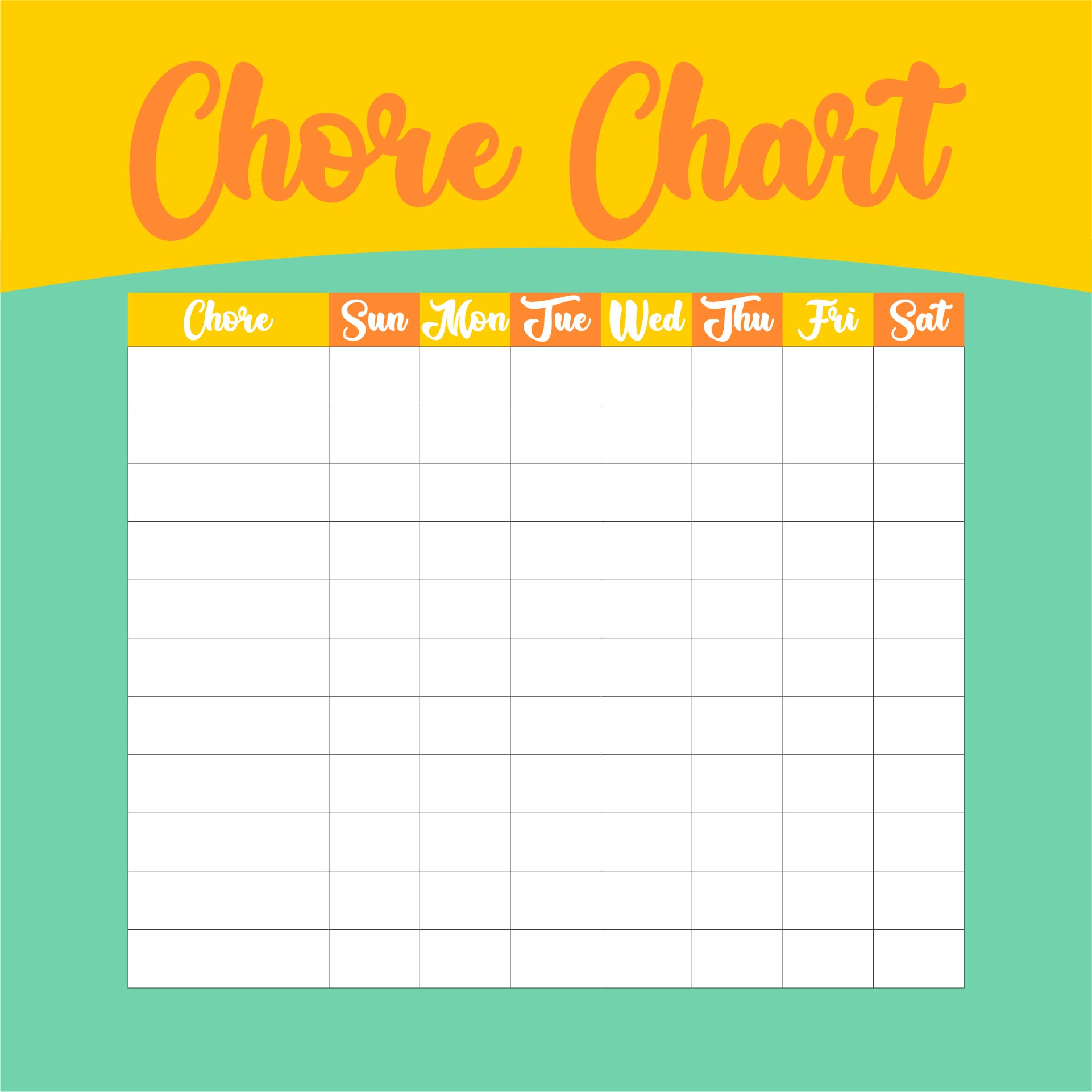 5 Best Printable Charts And Graphs Templates