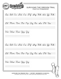Make Your Own Printable Cursive Handwriting Worksheets ...