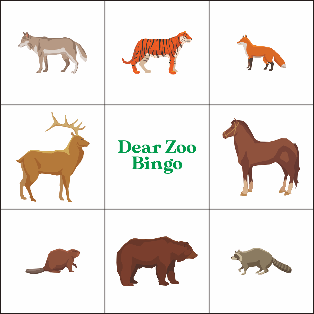5 Best Dear Zoo Printables