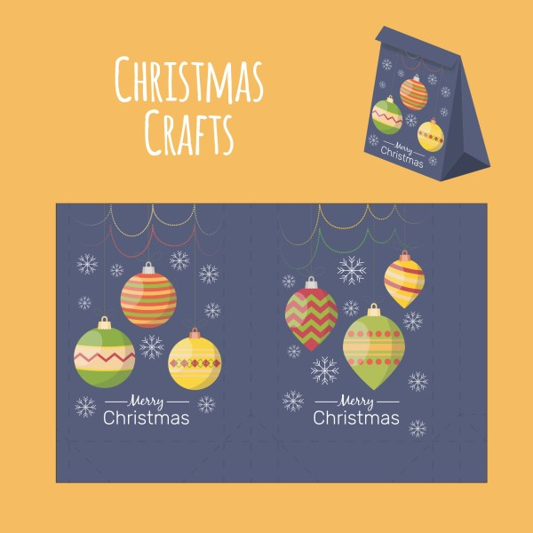 7 Best Images of Free Printable Christmas Paper Crafts