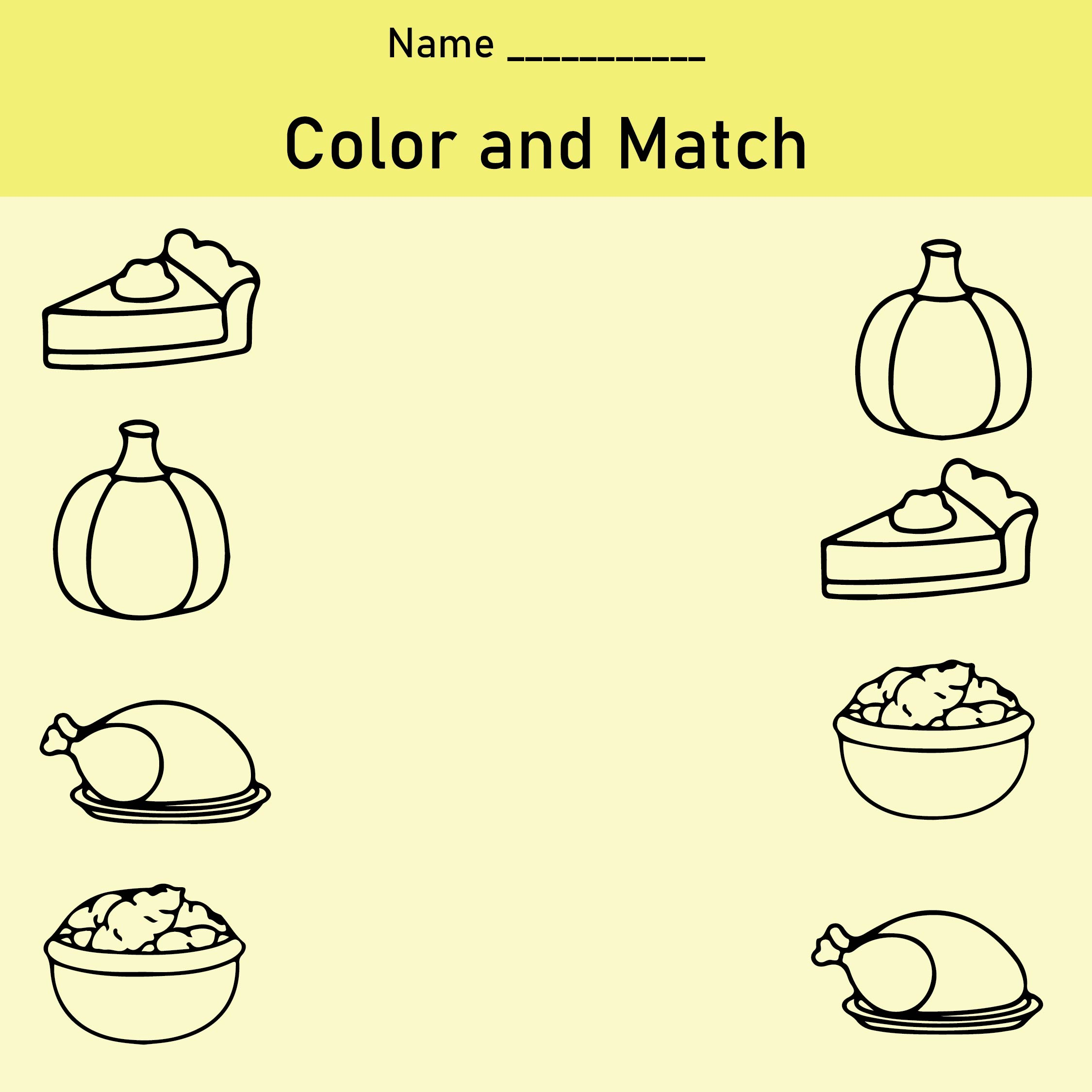 7 Best Images Of Pre School Free Printables Thanksgiving