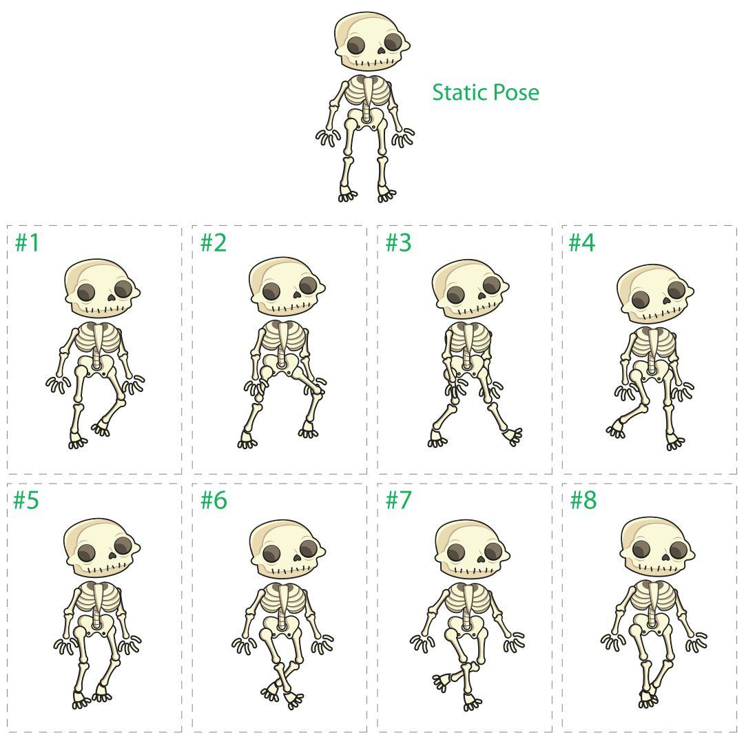 6 Best Large Printable Skeleton Template