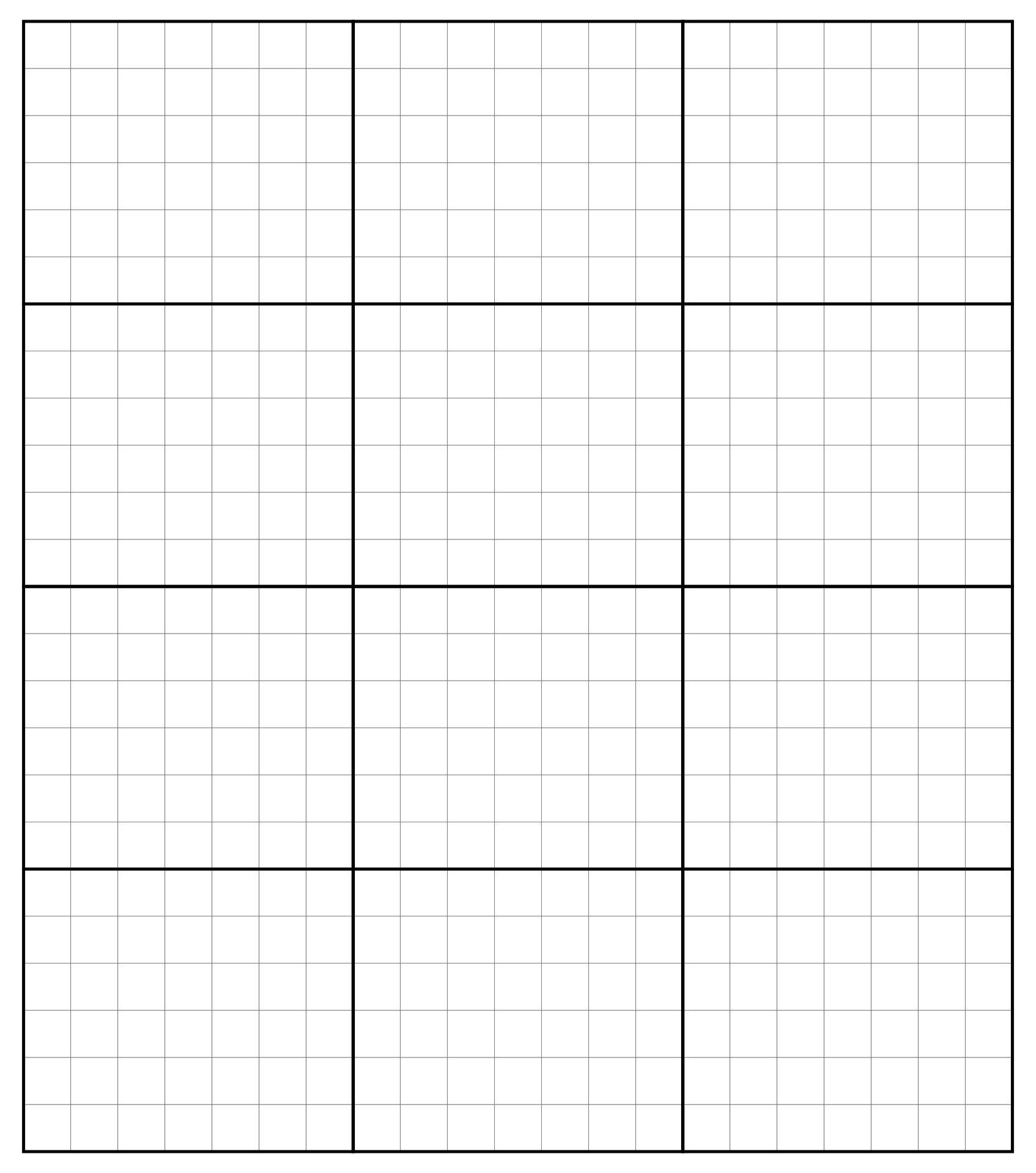 7 Best Images of Black Printable Grid Graph Paper