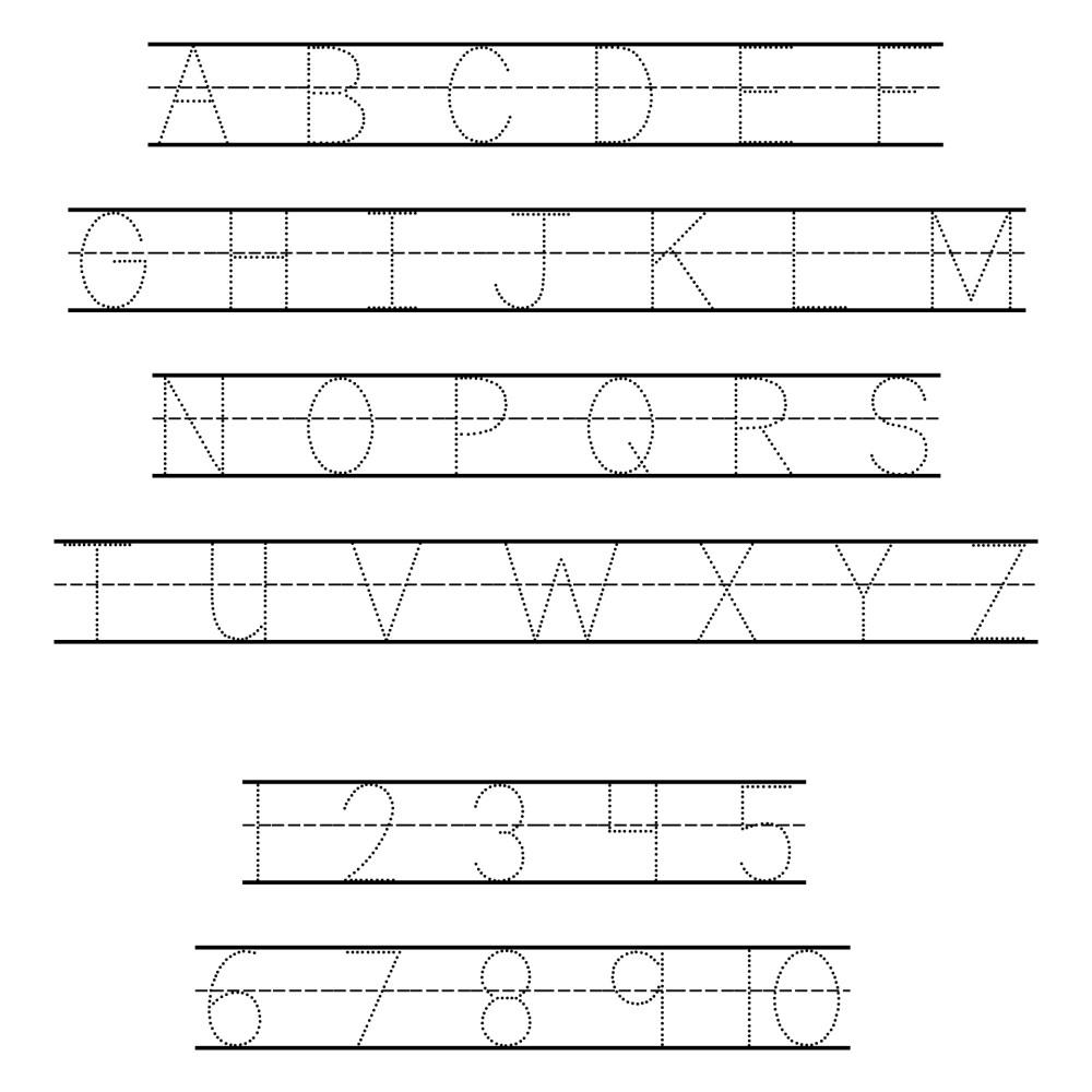 medium resolution of 6 Best Free ABC Worksheets Preschool Printables - printablee.com