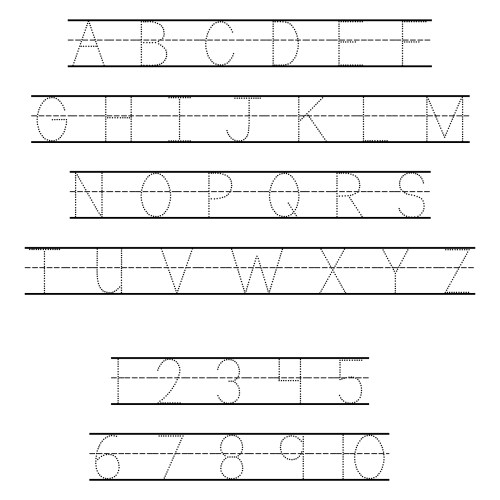 small resolution of 6 Best Free ABC Worksheets Preschool Printables - printablee.com