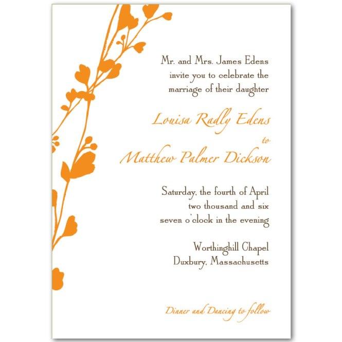 Print Wedding Invitations Online Free