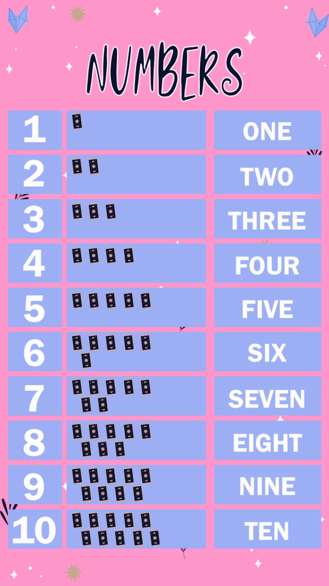 7 Best Printable Number Words 1 10