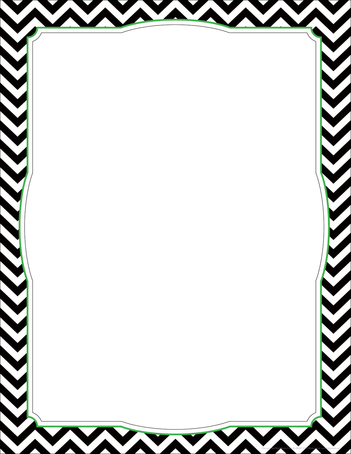 6 Best Images of Free Printable Chevron Border Template