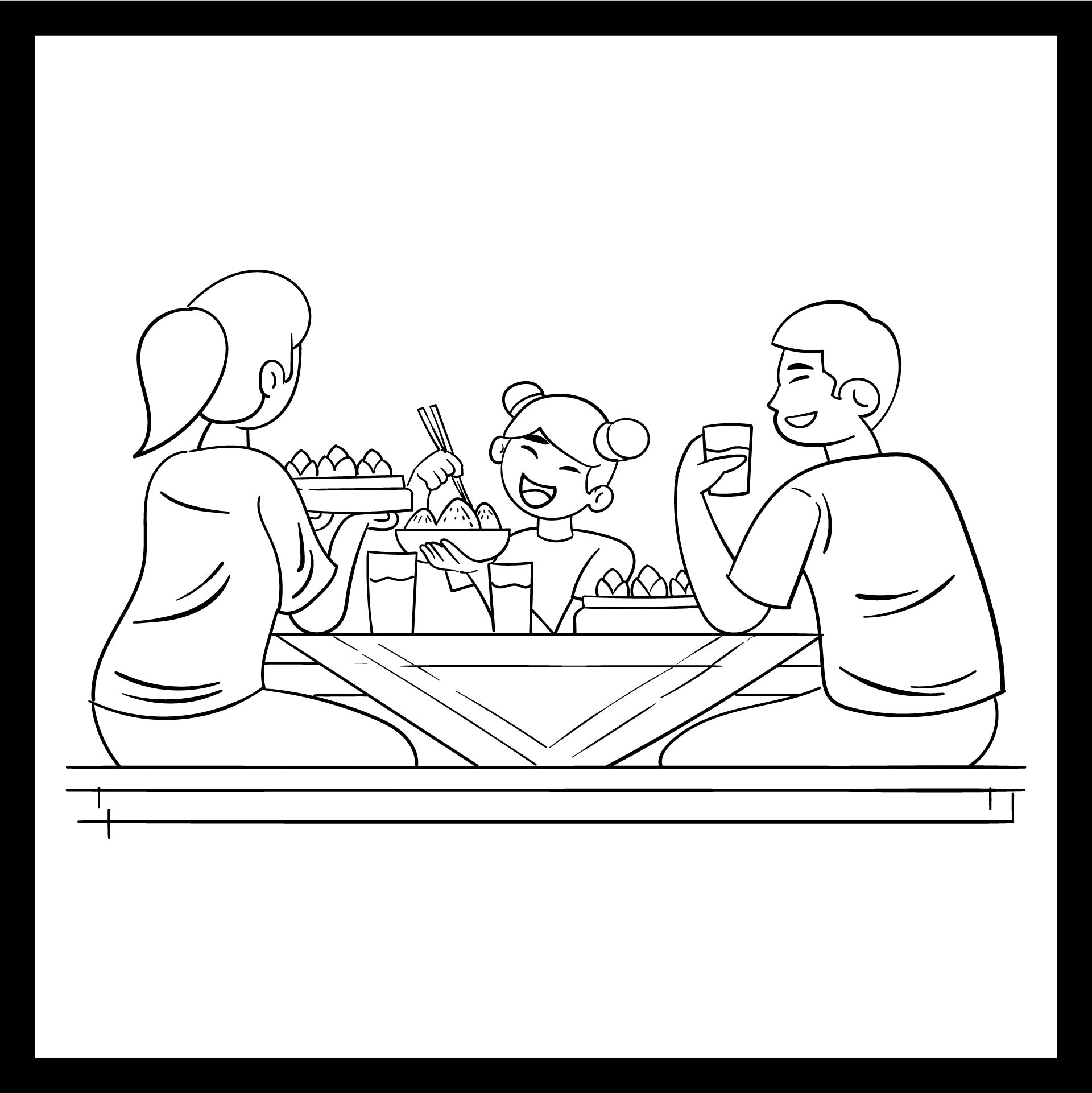 8 Best Preschool Manners Coloring Pages Printable