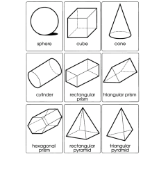 Art 3d Shapes Worksheets Printable   Printable Worksheets and Activities  for Teachers [ 1650 x 1275 Pixel ]