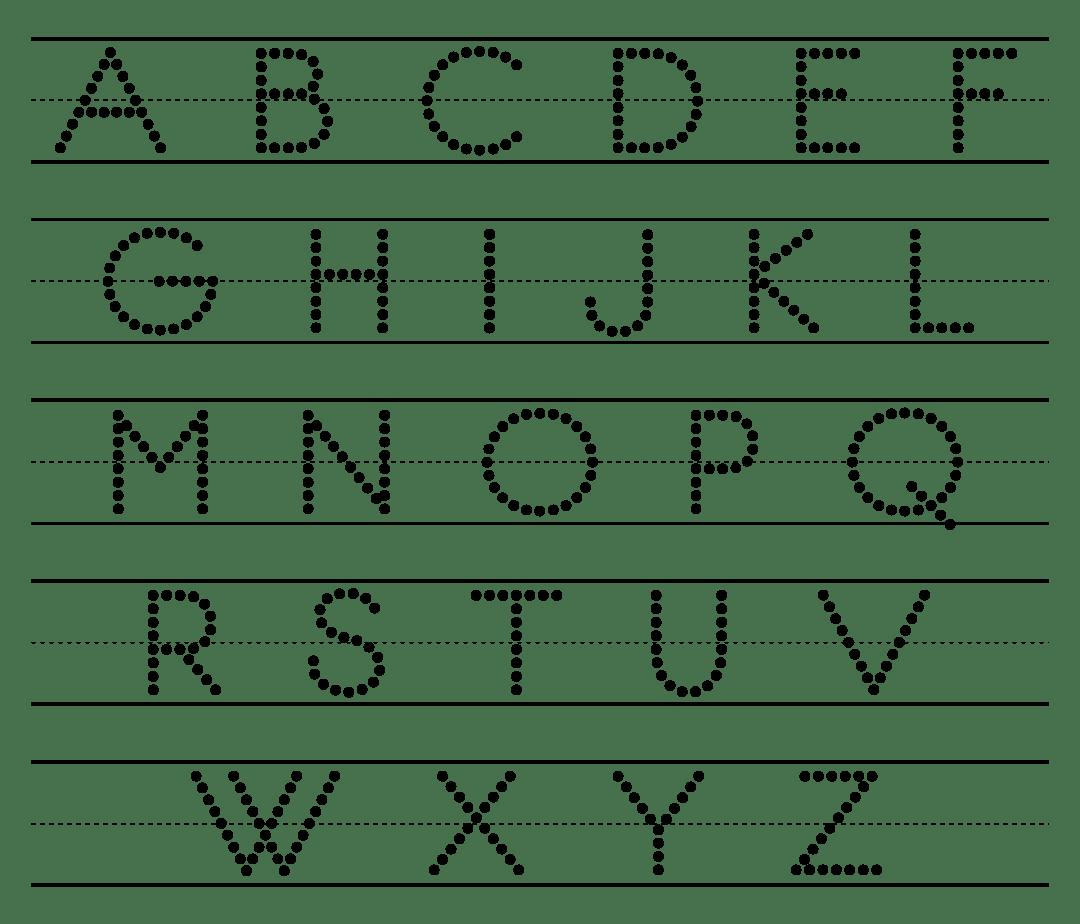 6 Best Preschool Abc Letters Printable