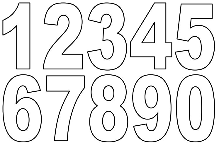 Number Printable Images Gallery Category Page 2