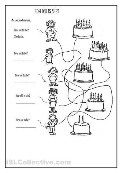 8 Best Images of School-Age Worksheets Printable