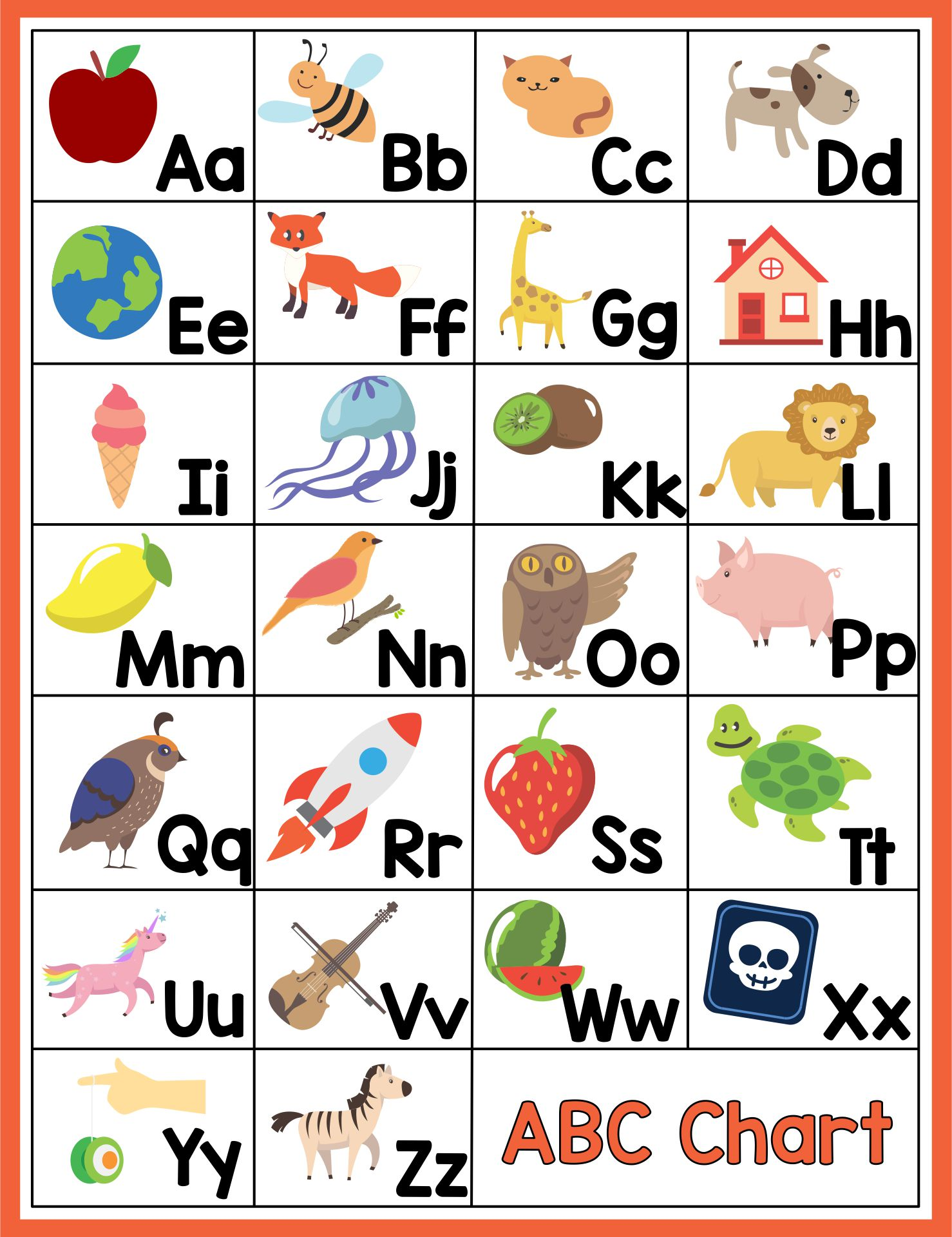 6 Best Images Of Alphabet Sounds Chart Printable