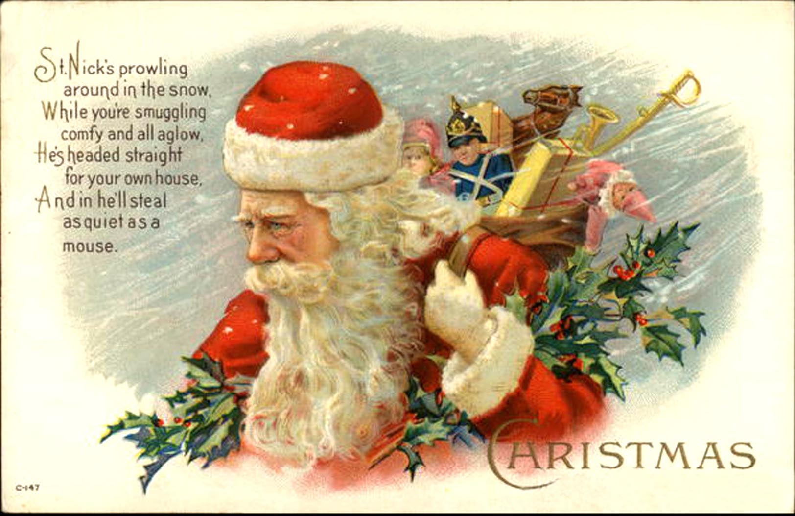 5 Best Images Of Western Christmas Cards Free Printable