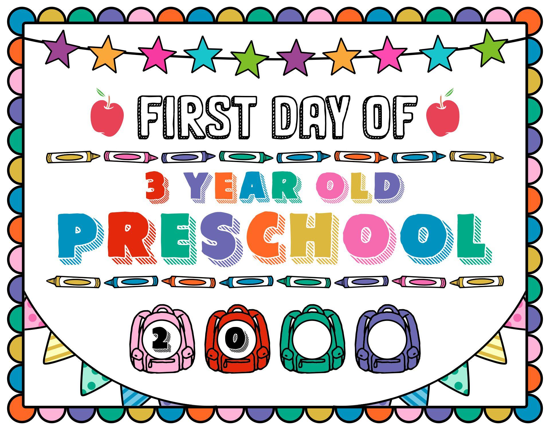 8 Best 3 Year Old Preschool Printables